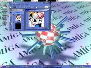 AmigaWorkbench Clone